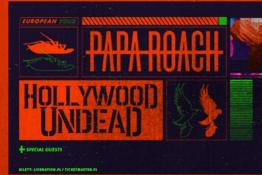 Poznań Wydarzenie Koncert Papa Roach & Hollywood Undead