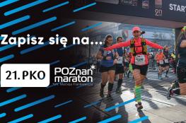 Poznań Wydarzenie Bieg 21. PKO Poznań Maraton im. Macieja Frankiewicza