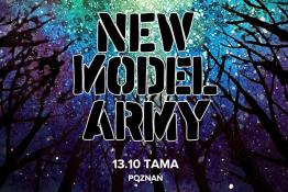 Poznań Wydarzenie Koncert New Model Army: 13.10.2019 Poznań, Tama